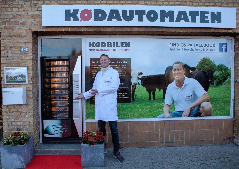 Kødautomaten åbner i Lyngby 4. november.