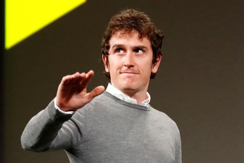 Dette års Tour de France-vinder, Geraint Thomas, var også til stede ved præsentationen i Paris.