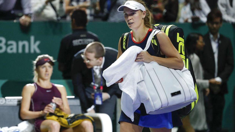 Caroline Wozniacki er blevet ramt af en kronisk gigtsygdom.