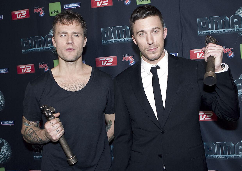 Nik og Jay vandt blandt andet æresprisen ved DMA i 2011.