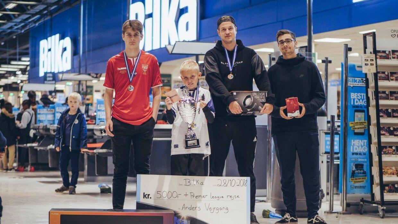 Anders Vejrgang vandt lørdag turneringen Bilka Live eFootball Tournament 2018.