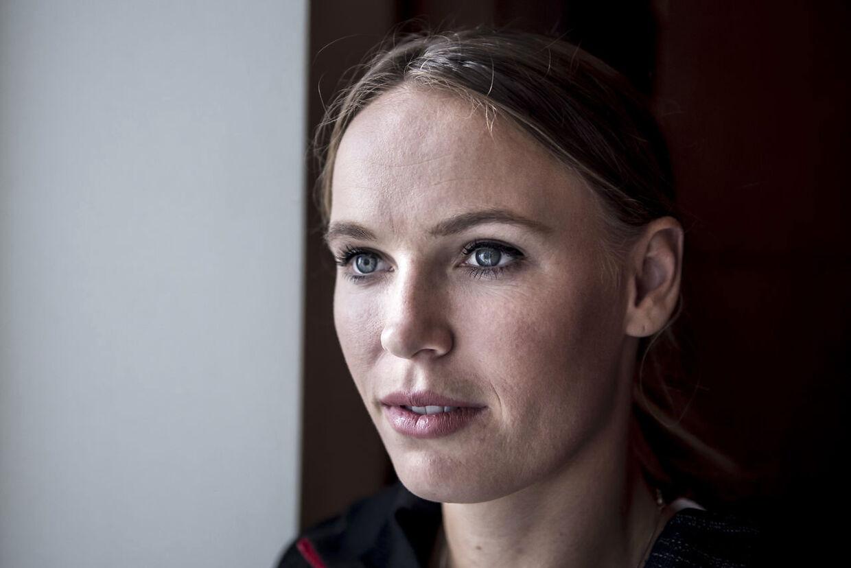 28-årige Caroline Wozniacki.