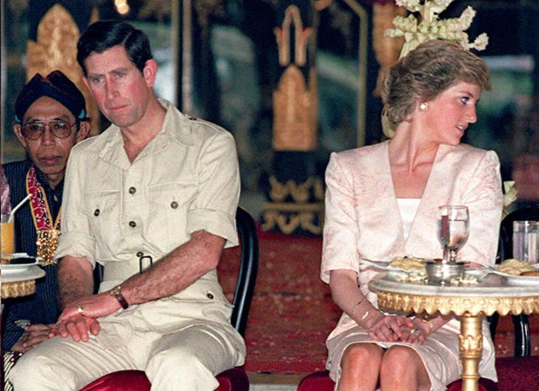 Det royale par fotograferet i 1989.