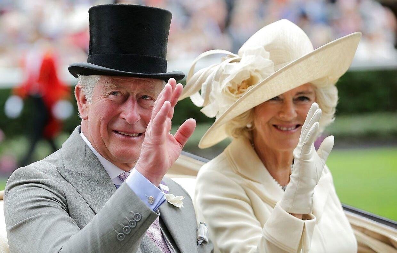 Charles og Camilla blev gift i 2005.