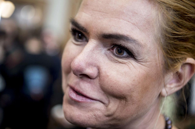 Inger Støjberg (V) før folketingets åbning på Christiansborg i København, tirsdag den 2. oktober 2018.. (Foto: Mads Claus Rasmussen/Ritzau Scanpix)