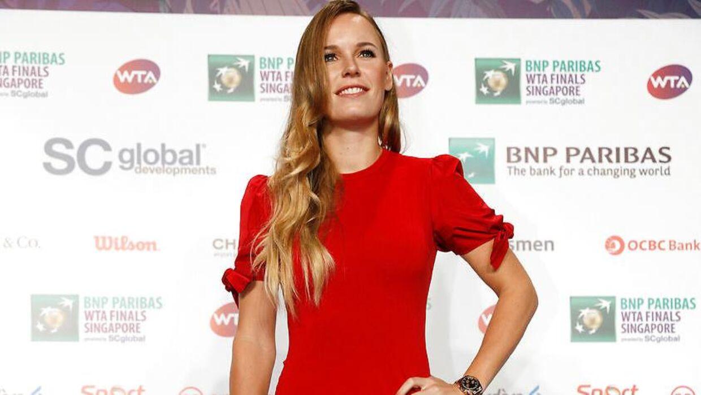 Caroline Wozniacki inden årets sæsonfinale.