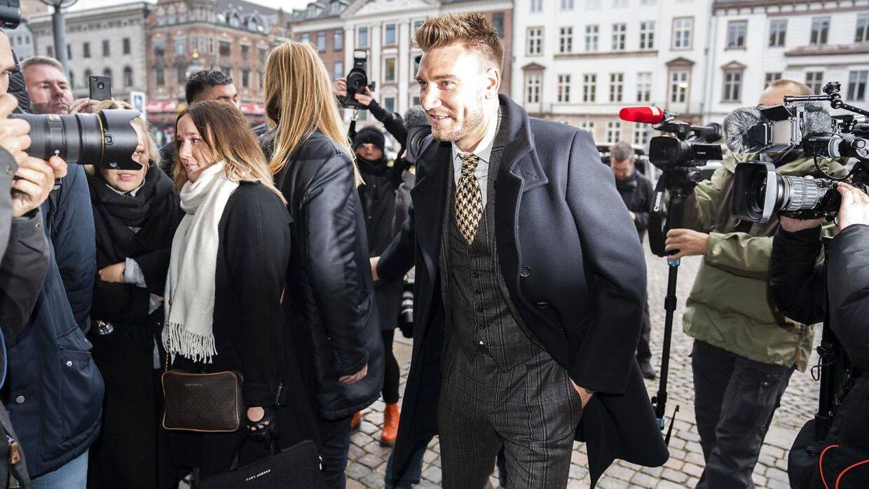 Presseopbuddet var kæmpe fredag foran Københavns Byret.