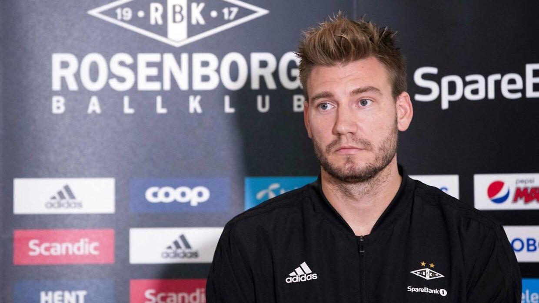 Nicklas Bendtner har tidligere undskyldt overfor Rosenborg.