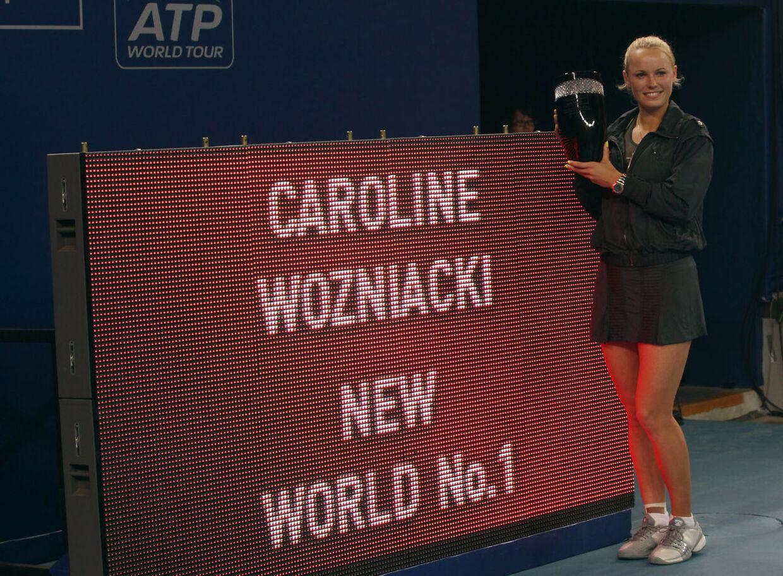 Caroline Wozniacki vandt i 2010 WTA-turneringen China Open og erobrede ved samme lejlighed verdensranglistens førsteplads.