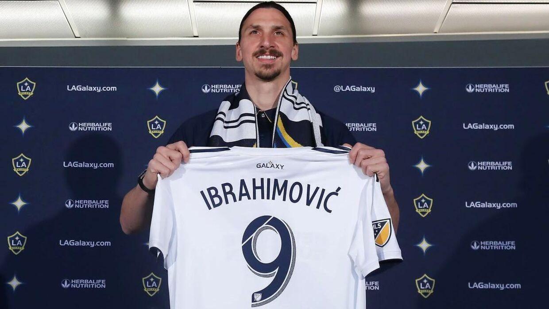 Zlatan Ibrahimovic skiftede i foråret til LA Galaxy.