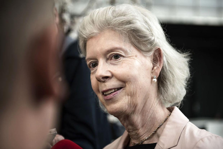 Ane Mærsk Mc-Kinney Uggla forstår godt, hvis danskerne på gaden er vrede på Danske Bank. (Foto: Ida Guldbæk Arentsen/Scanpix 2017)