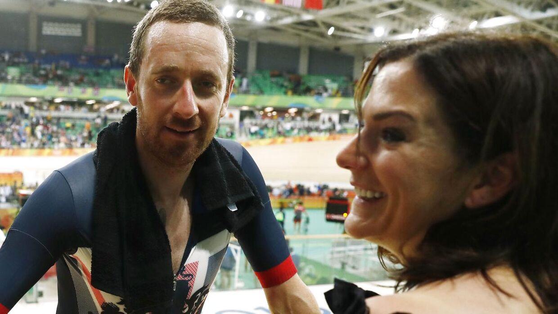 Det var hårdt for Bradley Wiggins' kone Catherine, at han blev anklaget for at bruge doping.