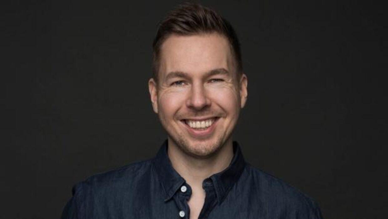 Dan Andersen er komiker og er snart aktuel med sit nye show 'På vippen'.