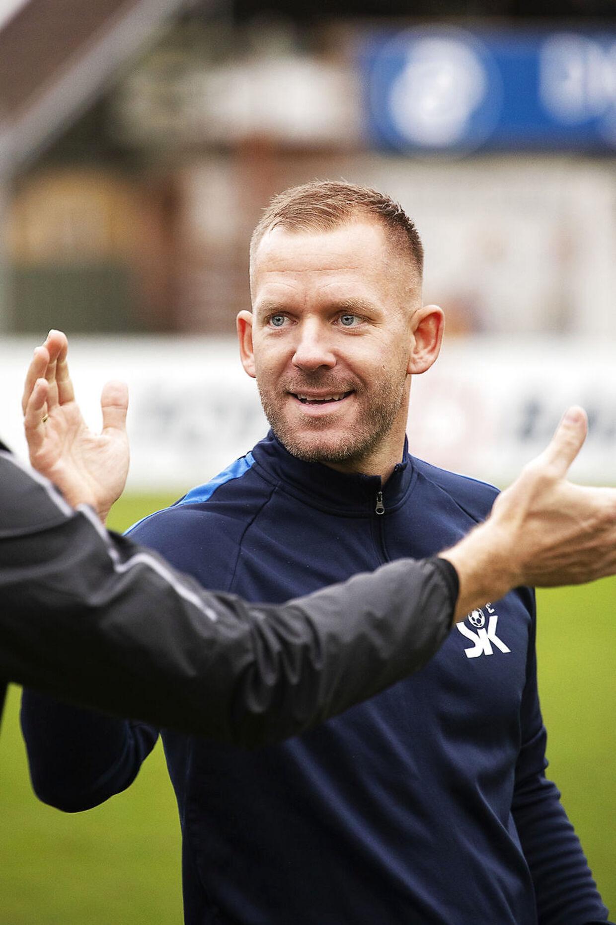 Assistenttræner i Skive, Martin Thomsen.