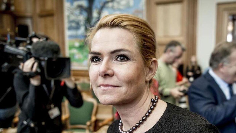 Udlændinge- og integrationsminister Inger Støjberg. Selvom hun skulle svare på spørgsmål i Folketingssalen onsdag eftermiddag, så fik vi fortsat ikke et svar på, hvorfor 13-årige Mint og de andre børn ikke kan integreres i Danmark.