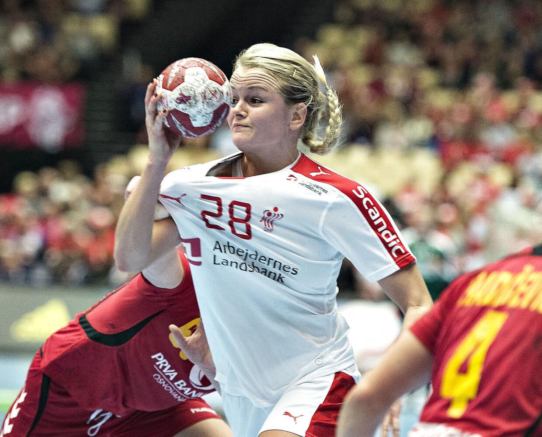 Den danske anfører Stine Jørgensen er endnu ikke afskrevet til EM