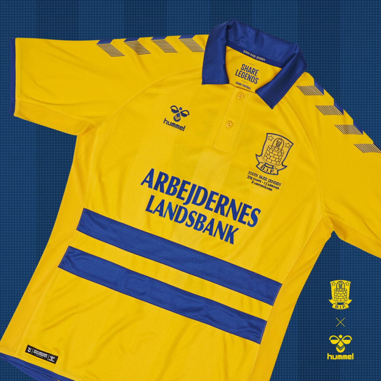 Den særlige Brøndby-trøje.