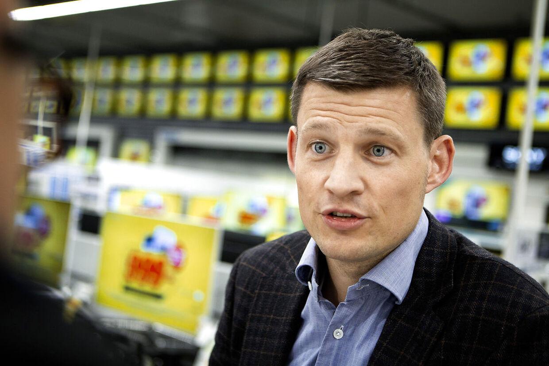 Elgigantens direktør, Peder Stedal, kalder konkurresituationen på det danske marked 'blandt de hårdeste i verden'.