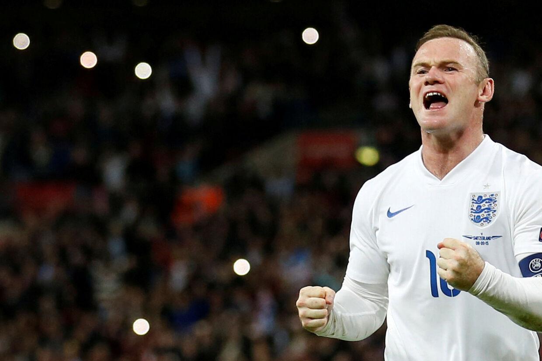 Wayne Rooney spiller sin landskamp nummer 120 for England, når England møder USA 15. november. Carl Recine/Ritzau Scanpix