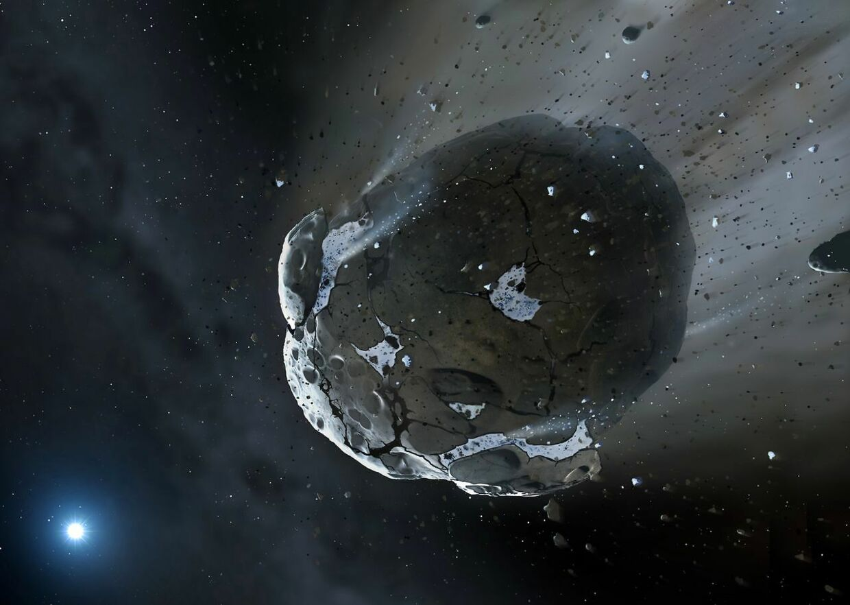 Arkiv: Tre asteroider passerer jorden i weekenden (Foto: Mark A. Garlick/Scanpix 2017)
