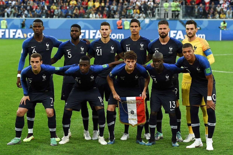 Den franske fodboldlandshold, der vandt VM i 2018, er stærkt præget af spillere med udenlandsk baggrund.
