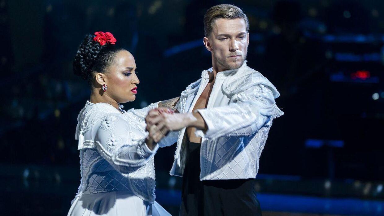 Lucy Love og Michael Olesen er ude af Vild med dans.