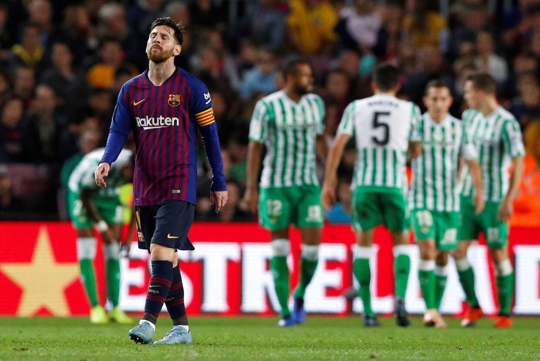 Det var især Lionel Messis comeback-kamp for FC Barcelona, der fik folk til tasterne.