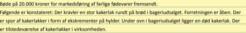 Det gik helt galt i Køge i slutningen af september.