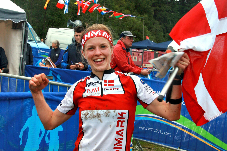 Orienteringsløberen Ida Bobach, der vandt to VM-guldmedaljer i 2015, indstiller sin karriere. Kell Sønnichsen/Dof/Ritzau Scanpix