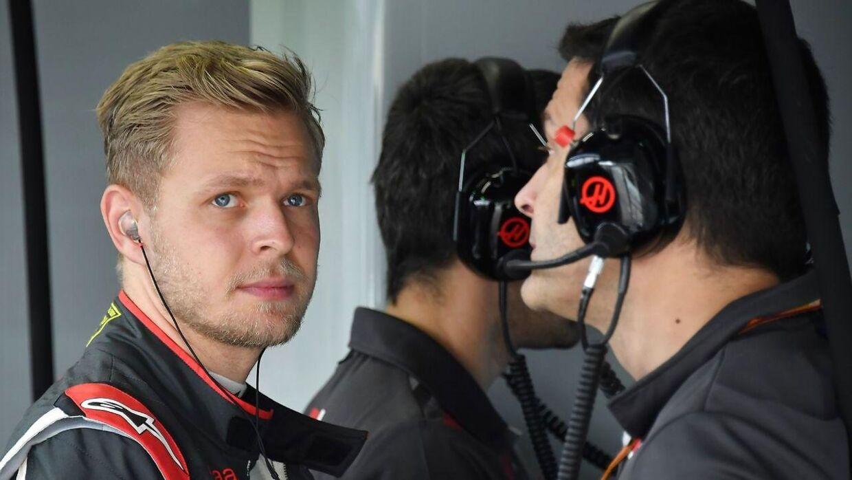 Kevin Magnussen under Brasiliens Grand Prix, der bev kørt i sidste weekend.
