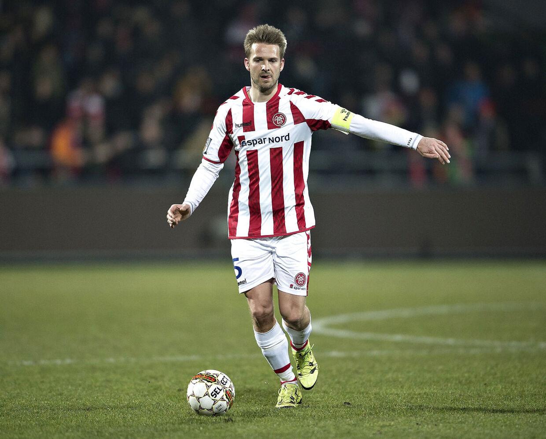 Kenneth Emil Pedersen toppede sin karriere hos AaB.