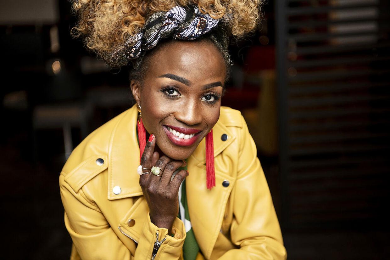 Sangerinden Joanita Zachariassen er vinder af DR1-programmet LIVE. Her fotograferet til interview til BT.