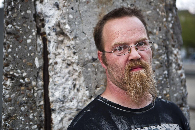 'Dovne Robert' blev landskendt som arbejdssky i 2012, da han på tv fortalte, at han foretrak at få kontanthjælp frem for at arbejde. Arkivfoto.