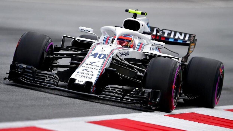 Robert Kubica bliver angiveligt ny kører hos Williams. (AFP PHOTO / ANDREJ ISAKOVIC)