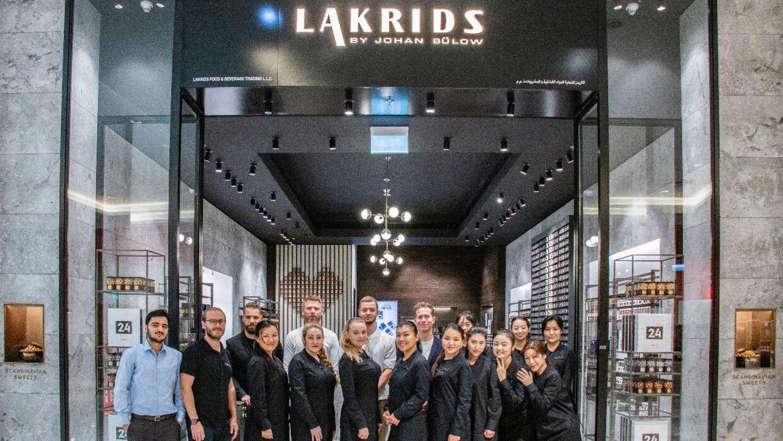 Lakrids by Johan Bülow har åbnet en butik i Dubai Mall.