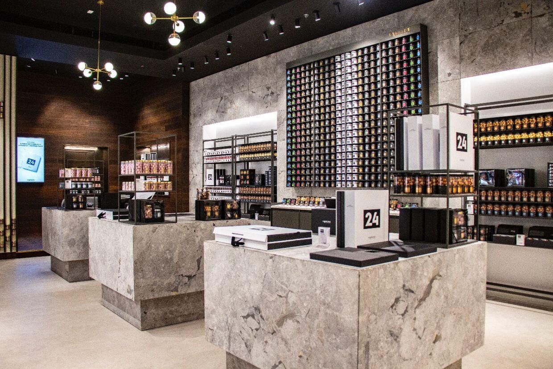 Lakrids by Johan Bülow åbnede mandag en butik i Dubai Mall tæt på opgangen til verdens højeste tårn.