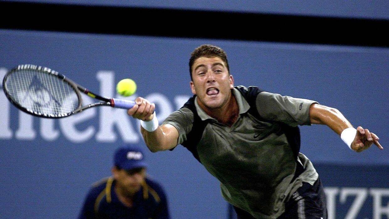 Justin Gimelstob ved US Open i år 2000.