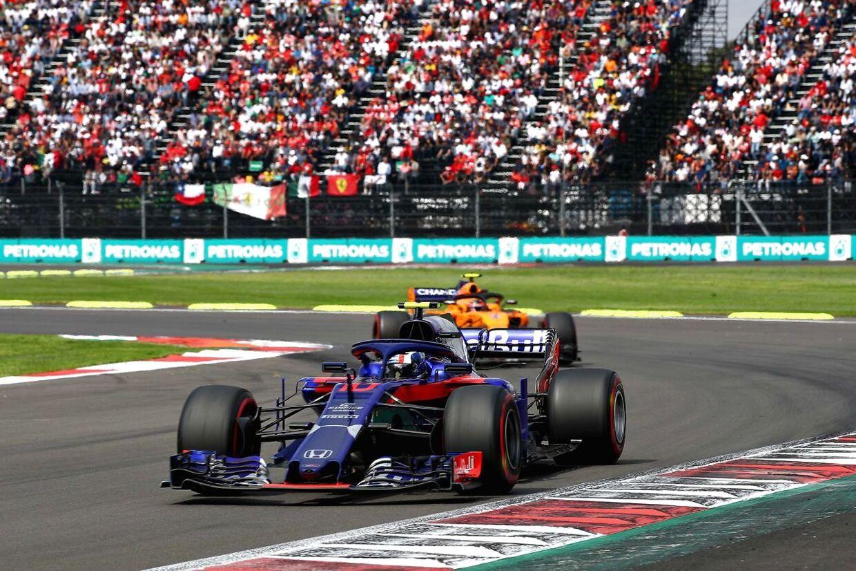 Toro Rosso får formentlig Alexander Albon i bilen i 2019. (Mark Thompson/Getty Images/AFP)