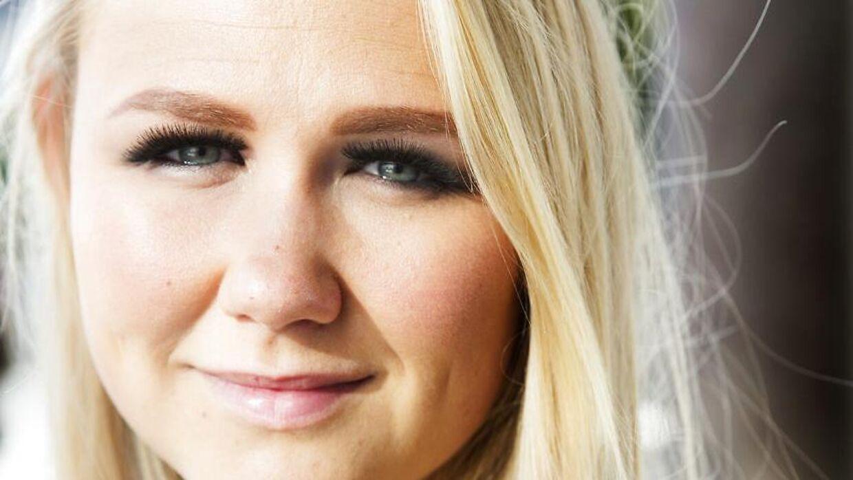 28-årige Cecilie Schmeichel, datter af tidligere landsholdsspiller, Peter Schmeichel, har tabt sig 30 kilo. (Arkivfoto)