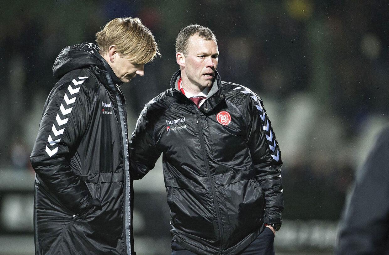 Allan Gaarde og Morten Wieghorst.