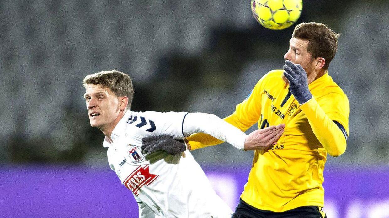 Jens Stage spillede på spids mod AC Horsens.