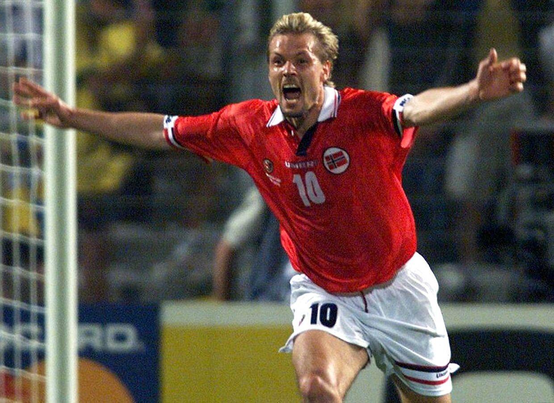 Kjetil Rekdal var en af stjernerne på det norske landshold, der i 1998 slog Brasilien ved VM i Frankrig. Rekdal scorede endda sejrsmålet i 2-1-sejren mod de forsvarende verdensmestre.