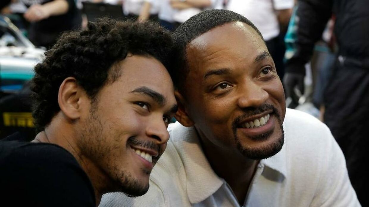 Will Smith og hans 26-årige søn Trey Smith