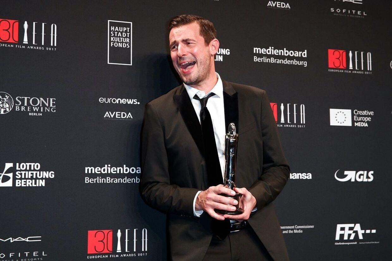 Claes Bang vandt i 2017 en European Film Award for sin rolle i The Square.