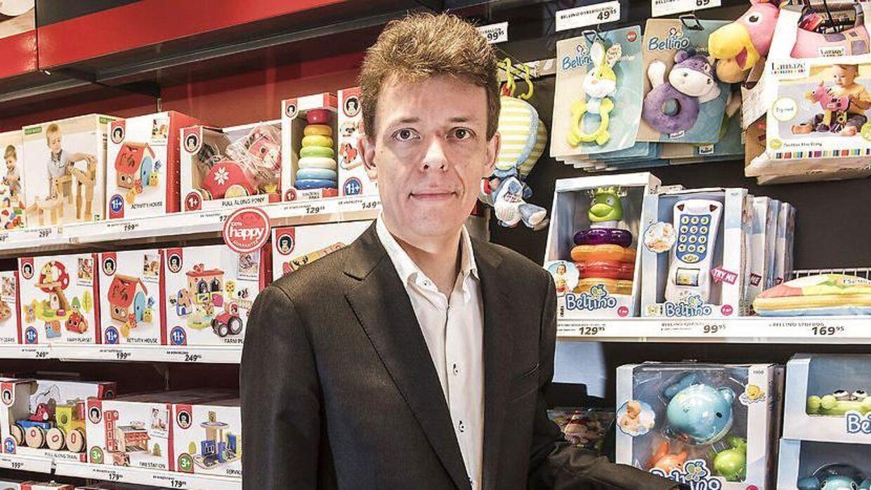 Peter Gjørup, der er tidligere adm. direktør i Top-toy og Fætter BR, er ked af, at Top Toy er gået i rekonstruktion. Arkivfoto