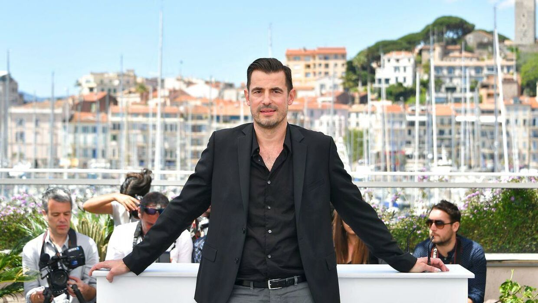 Claes Bang på filmfestivalen i Cannes i 2017.