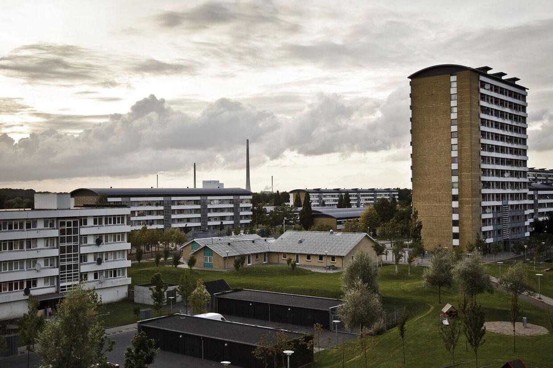 (ARKIV) Vollsmose. I Vollsmose skal op mod 1000 boliger rives ned. Området opdeles nu i to for at koncentrere indsatsen. Det skriver Ritzau, fredag den 30. november 2018.. (Foto: Malte Kristiansen/Ritzau Scanpix)