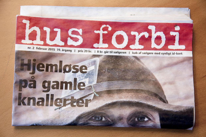 ARKIVFOTO af et Hus Forbi-blad.