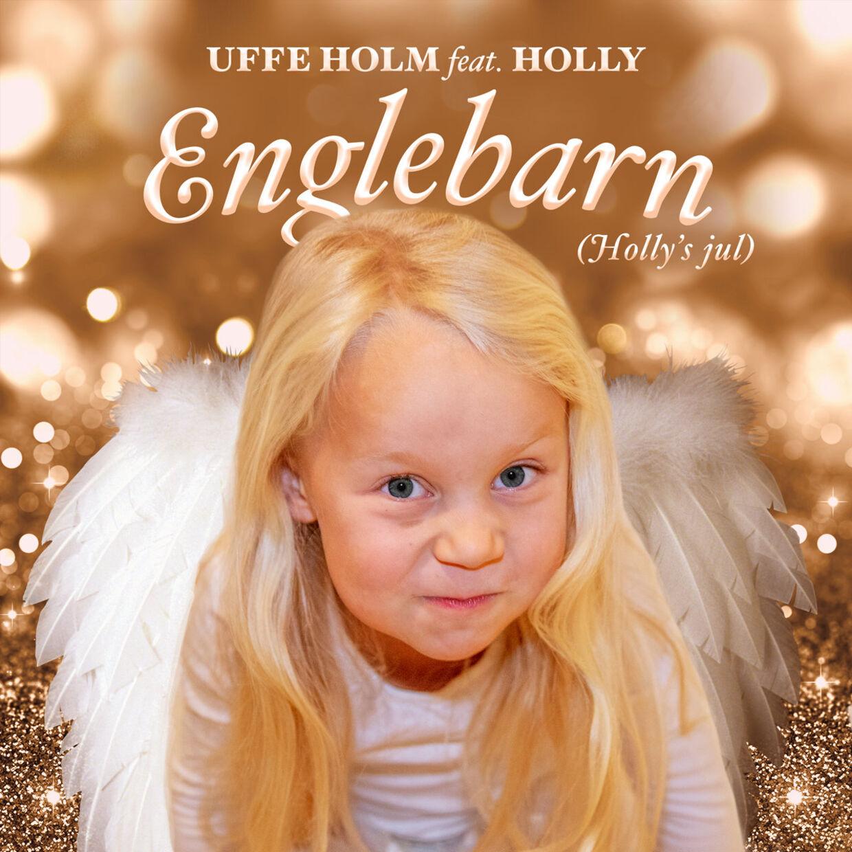 4-årige Holly Holm er efterhånden et kendt ansigt. Nu er hun aktuel med en julesang sammen med sin far, Uffe Holm.