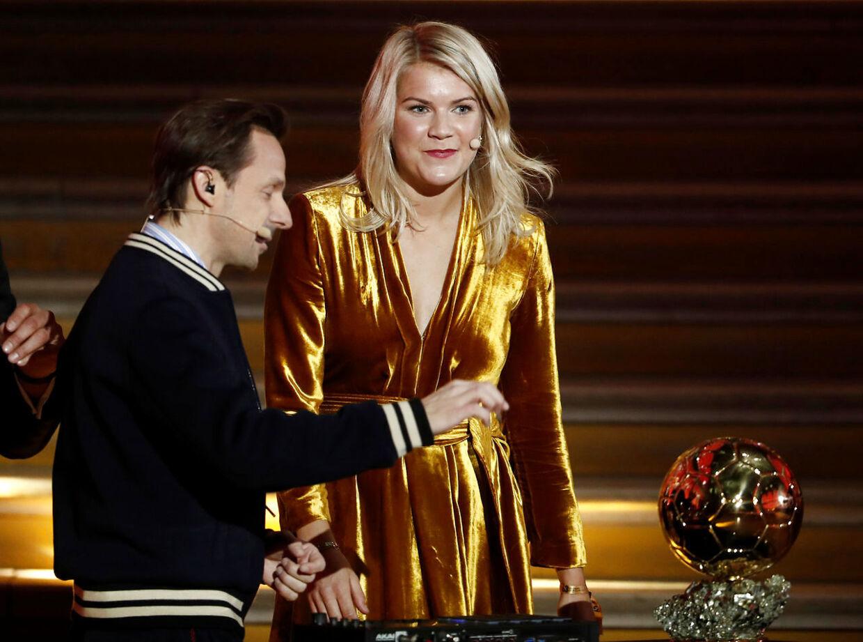 Ada Hegerberg får Ballon d'Or-prisen.